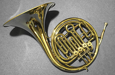 A french horn